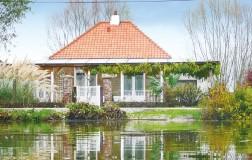 Ferienunterkunft Houlle - Haus - 4 Personen - 3 Zimmer - 2 Schlafzimmer - Foto Nr.1