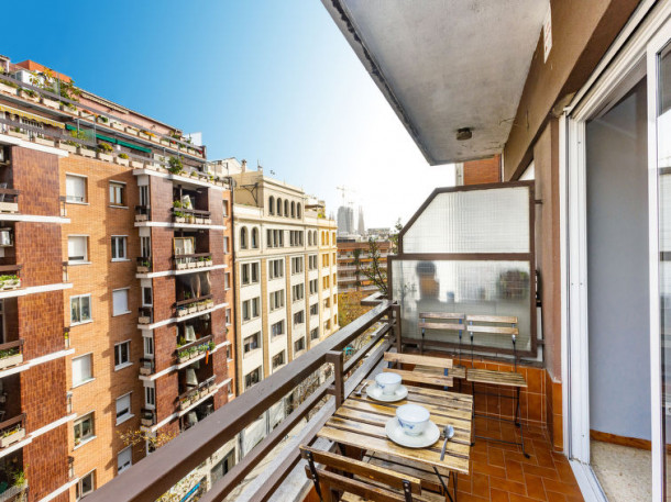 location appart Barcelone Sagrada Familia Eixample Dret