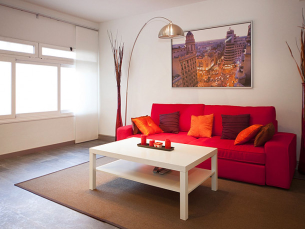 location appartement Madrid Acacias Oasis