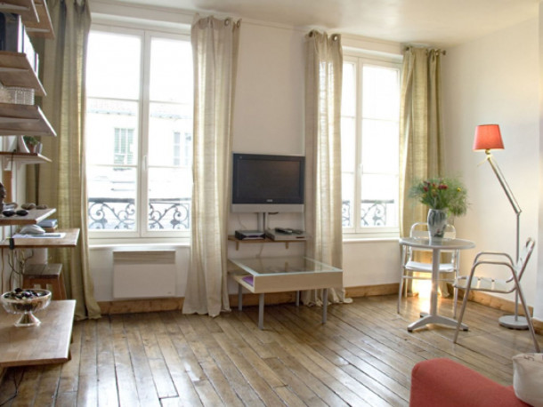 louer appartement Paris 04 Hôtel de Ville Romantic Studio