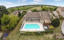 Alquiler vacaciones Saint Méard de Gurçon - Casa - 12 personas - 7 cuartos - 5 dormitorios - Foto N°1