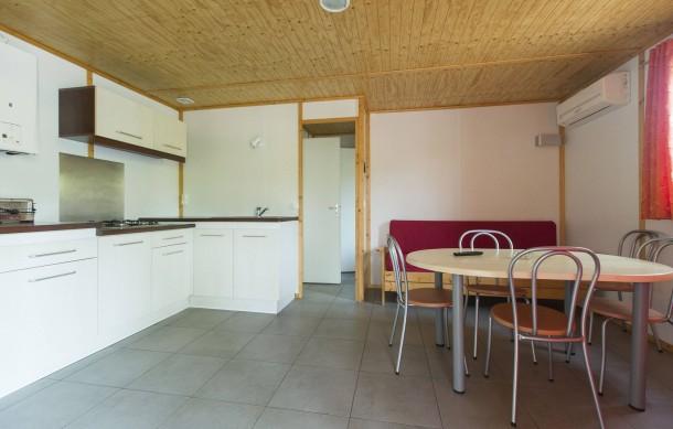 camping vilanova park vilanova i la geltru mobil home 6 personnes. Black Bedroom Furniture Sets. Home Design Ideas