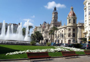 La ville de Valencia