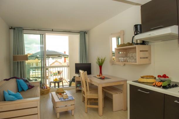 Holiday apartment Résidence les Jardins de l'Oyat - Mimizan-Plage - cabine (2255494), Mimizan, Atlantic coast Landes, Aquitania, France, picture 1