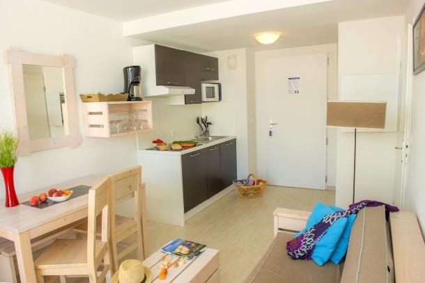 Holiday apartment Résidence les Jardins de l'Oyat - Mimizan-Plage - cabine (2255494), Mimizan, Atlantic coast Landes, Aquitania, France, picture 10