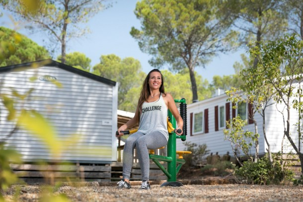 Holiday house Camping Holiday Green - Mh PATCHWORK 2ch 4/6pers + Terrasse Semi-couverte. (2320055), Fréjus, Côte d'Azur, Provence - Alps - Côte d'Azur, France, picture 14