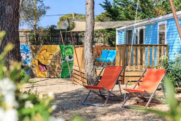 Holiday house Camping Holiday Green - Mh PATCHWORK 2ch 4/6pers + Terrasse Semi-couverte. (2320055), Fréjus, Côte d'Azur, Provence - Alps - Côte d'Azur, France, picture 21