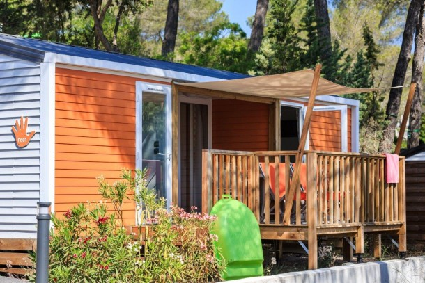 Holiday house Camping Holiday Green - Mh PATCHWORK 2ch 4/6pers + Terrasse Semi-couverte. (2320055), Fréjus, Côte d'Azur, Provence - Alps - Côte d'Azur, France, picture 22