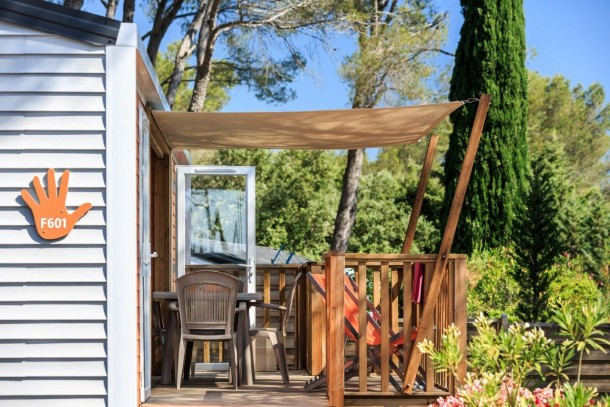 Holiday house Camping Holiday Green - Mh PATCHWORK 2ch 4/6pers + Terrasse Semi-couverte. (2320055), Fréjus, Côte d'Azur, Provence - Alps - Côte d'Azur, France, picture 23