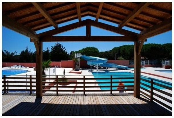 Ferienhaus Camping Parc Bellevue - Bungalow 2Ch 4pers + Terrasse (2257854), Valras Plage, Mittelmeerküste Hérault, Languedoc-Roussillon, Frankreich, Bild 2