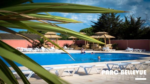 Ferienhaus Camping Parc Bellevue - Bungalow 2Ch 4pers + Terrasse (2257854), Valras Plage, Mittelmeerküste Hérault, Languedoc-Roussillon, Frankreich, Bild 3
