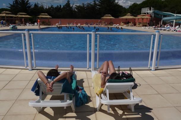 Ferienhaus Camping Parc Bellevue - Bungalow 2Ch 4pers + Terrasse (2257854), Valras Plage, Mittelmeerküste Hérault, Languedoc-Roussillon, Frankreich, Bild 15