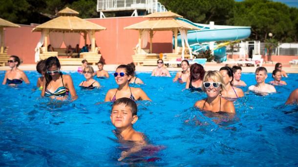 Ferienhaus Camping Parc Bellevue - Bungalow 2Ch 4pers + Terrasse (2257854), Valras Plage, Mittelmeerküste Hérault, Languedoc-Roussillon, Frankreich, Bild 16
