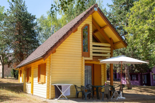 Ferienhaus Camping du Breuil - Chalet Insecte (mitoyen) (2258299), Bourbon Lancy, Saône-et-Loire, Burgund, Frankreich, Bild 2