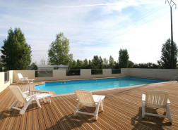 Location vacances Puyravault - Camping le Merval 2* - Mobil Home - 4 personnes - 3 pièces - 2 chambres - Photo N°1