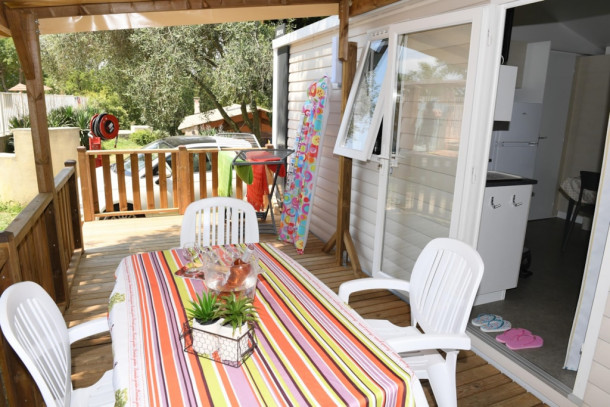 Holiday house Parc Bellevue - Mobil-Home Venus (2 adultes + 2 enfants de - 13 ans) (2339017), Cannes la Bocca, Côte d'Azur, Provence - Alps - Côte d'Azur, France, picture 21
