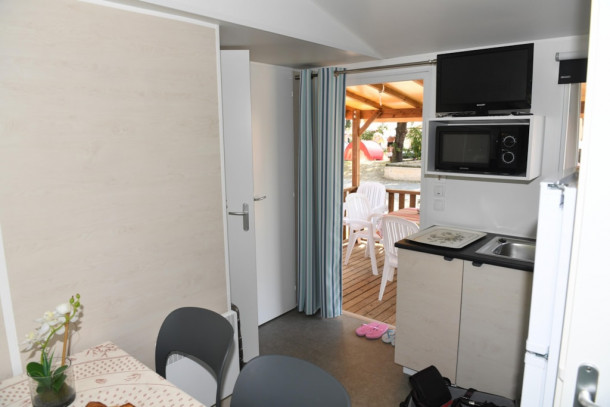 Holiday house Parc Bellevue - Mobil-Home Venus (2 adultes + 2 enfants de - 13 ans) (2339017), Cannes la Bocca, Côte d'Azur, Provence - Alps - Côte d'Azur, France, picture 22