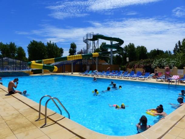 Ferienhaus Camping Domaine de la Yole 5* - Mobil-home Confort - 2 chambres - 5/6 personnes (2259185), Valras Plage, Mittelmeerküste Hérault, Languedoc-Roussillon, Frankreich, Bild 3