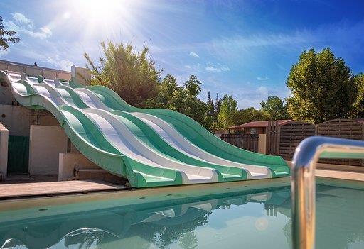 Holiday house Camping Le Fréjus - Mobilhome FLORUS CONFORT+ 36m² (3 chambres) +Clim +TV (2260341), Fréjus, Côte d'Azur, Provence - Alps - Côte d'Azur, France, picture 8