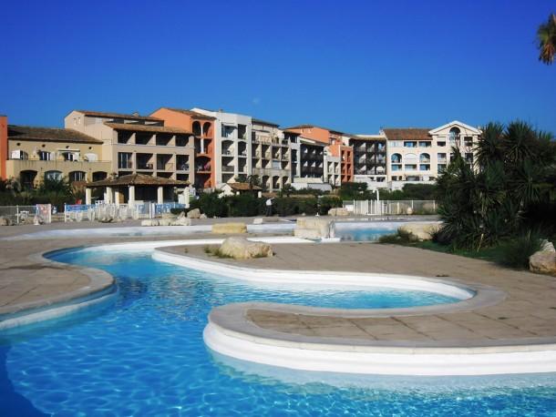 Holiday apartment T2 résidence avec piscine face à la mer (2301667), Gassin, Côte d'Azur, Provence - Alps - Côte d'Azur, France, picture 2