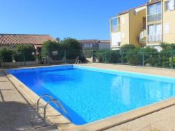 Location vacances Saint Pierre La Mer - Appartement - 4 personnes - 2 pièces - 1 chambre - Photo N°1