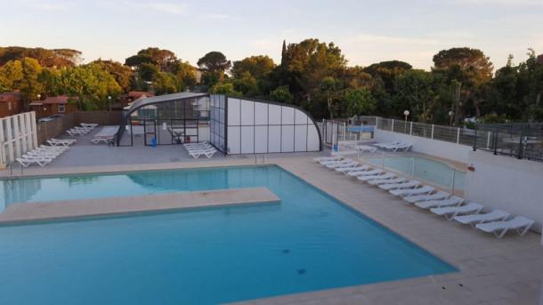 Holiday house Camping Le Fréjus - Chalet MOREA ECO 24m² (2 chambres) (2263592), Fréjus, Côte d'Azur, Provence - Alps - Côte d'Azur, France, picture 3