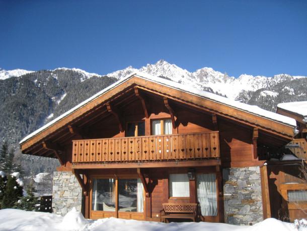 Serac  Chamonix Mont Blanc  Chalet 7 personnes  Ref 32537