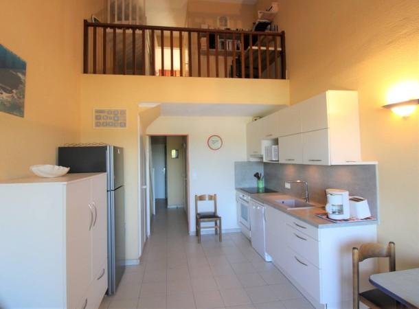 Holiday apartment T2 cabine duplex pour 7 personnes résidence avec piscine face à la mer (2301742), Gassin, Côte d'Azur, Provence - Alps - Côte d'Azur, France, picture 4
