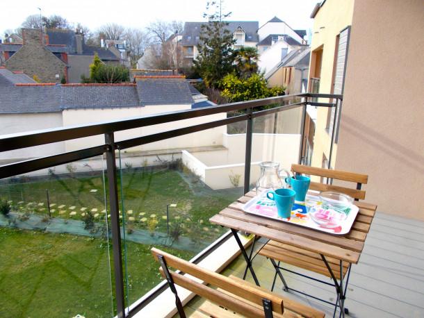 Holiday apartment Villa Agatte, Apt 2 Chambre avec Balcon et Parking (2288159), Dinard, Ille-et-Vilaine, Brittany, France, picture 3