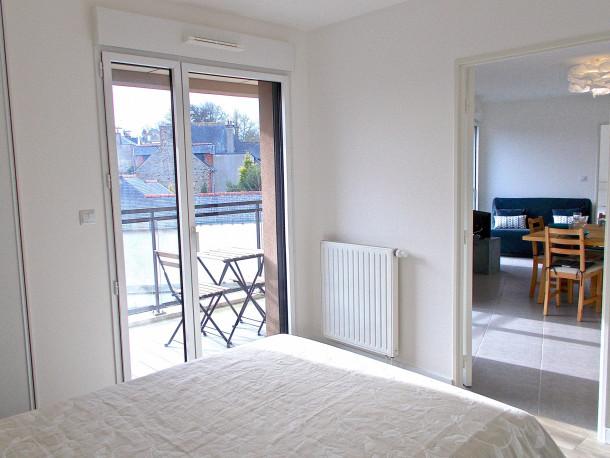 Holiday apartment Villa Agatte, Apt 2 Chambre avec Balcon et Parking (2288159), Dinard, Ille-et-Vilaine, Brittany, France, picture 8