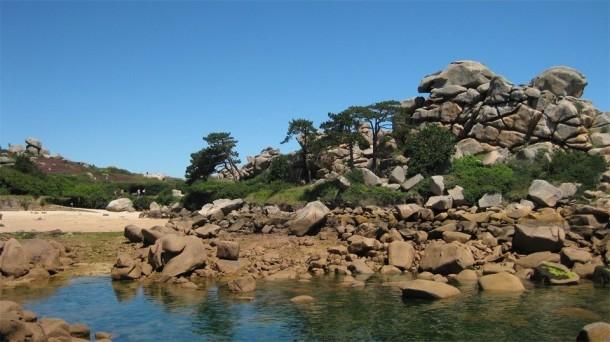 Ferienhaus Belle maison avec jardin clos proche plage à l'ILE GRANDE (2293912), Pleumeur Bodou, Côtes d'Armor, Bretagne, Frankreich, Bild 17