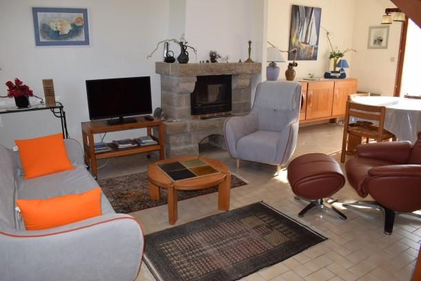 Ferienhaus Maison à 250m de la belle plage de Pors Gelen et de l'école de voile (2294031), Pleumeur Bodou, Côtes d'Armor, Bretagne, Frankreich, Bild 3