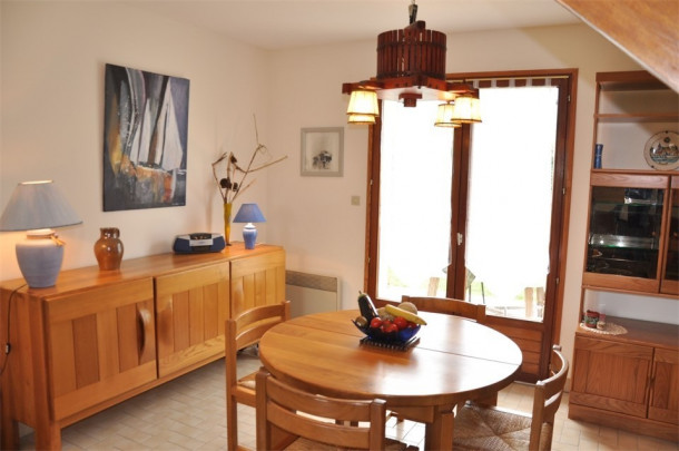 Ferienhaus Maison à 250m de la belle plage de Pors Gelen et de l'école de voile (2294031), Pleumeur Bodou, Côtes d'Armor, Bretagne, Frankreich, Bild 4