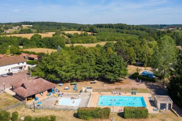 Ferienhaus Camping de Saulieu - Mini-chalet sans sanitaires Olga (2307603), Saulieu, Côte d'Or, Burgund, Frankreich, Bild 1