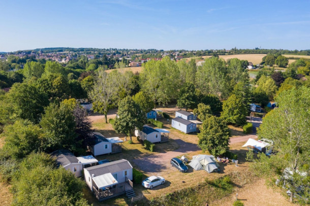 Ferienhaus Camping de Saulieu - Mini-chalet sans sanitaires Olga (2307603), Saulieu, Côte d'Or, Burgund, Frankreich, Bild 3