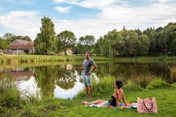 Ferienhaus Camping de Saulieu - Mini-chalet sans sanitaires Olga (2307603), Saulieu, Côte d'Or, Burgund, Frankreich, Bild 7