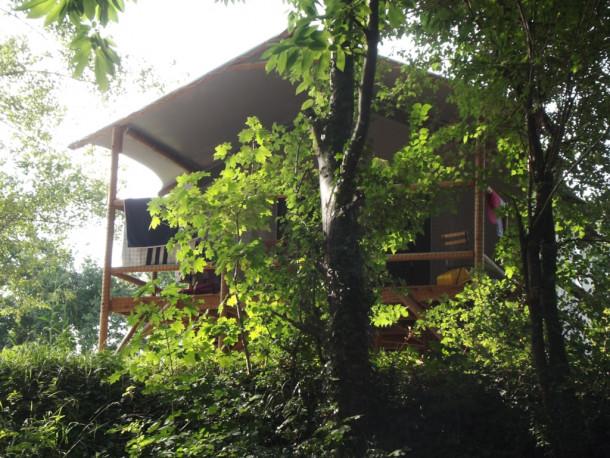 Ferienhaus Village Camping LES VIGNES - Cabane Lodge sur pilotis 2 chambres (2343707), Puy l'Évêque, Lot, Midi-Pyrénées, Frankreich, Bild 8