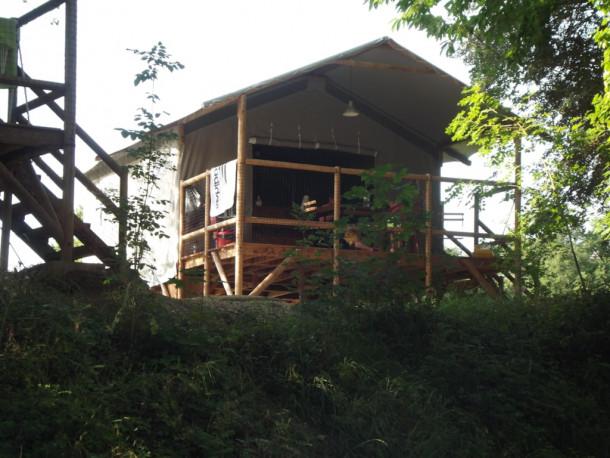 Ferienhaus Village Camping LES VIGNES - Cabane Lodge sur pilotis 2 chambres (2343707), Puy l'Évêque, Lot, Midi-Pyrénées, Frankreich, Bild 9