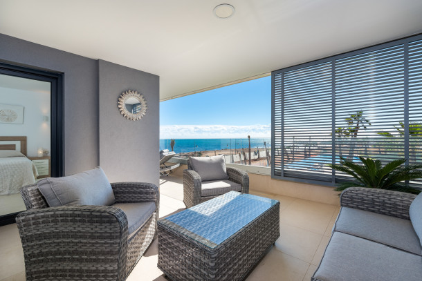 Appartement de vacances Apartment for 6 people with sea view/first line, pool, garage, Panorama Mar,  Utopia (2610492), Torrevieja, Costa Blanca, Valence, Espagne, image 16