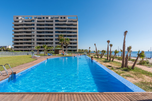 Appartement de vacances Apartment for 6 people with sea view/first line, pool, garage, Panorama Mar,  Utopia (2610492), Torrevieja, Costa Blanca, Valence, Espagne, image 23