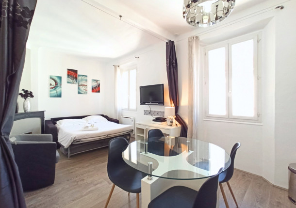 Holiday apartment Stylish and Modern 1 Bedroom Rue Florian (2557601), Cannes la Bocca, Côte d'Azur, Provence - Alps - Côte d'Azur, France, picture 1