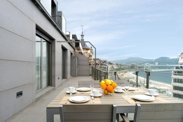 Ferienwohnung 019 / NIZA LA CONCHA, terrace with beach views (2558672), Donostia, Costa Vasca, Baskenland, Spanien, Bild 1
