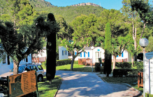 Camping Castell Montgri | Costa Brava | Luxury Mobile Homes