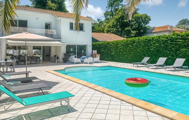 Location Prestige Avec Piscine Prive  Lge Cap Ferret  Maison