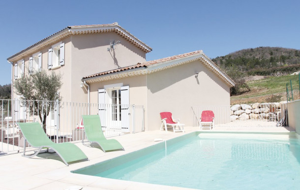 Location prestige avec piscine priv e saint thom for Ardeche location maison avec piscine