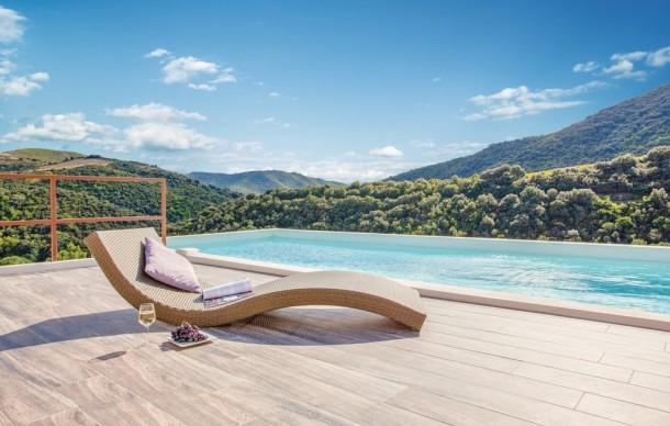 Location prestige avec piscine priv e saint nazaire de for Piscine st nazaire