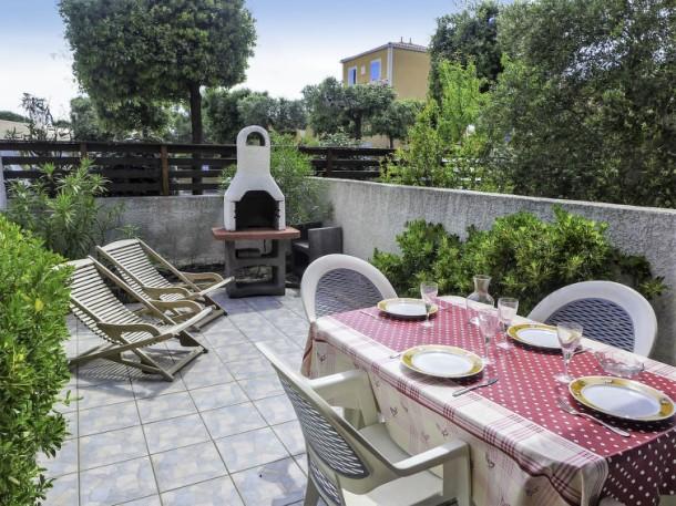 les jardins de la clape narbonne plage appartement 4 personnes ref 185071. Black Bedroom Furniture Sets. Home Design Ideas