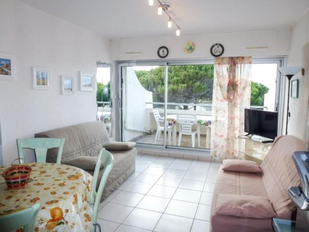 Le flamant port camargue appartement 6 personnes ref - Location appartement port camargue particulier ...