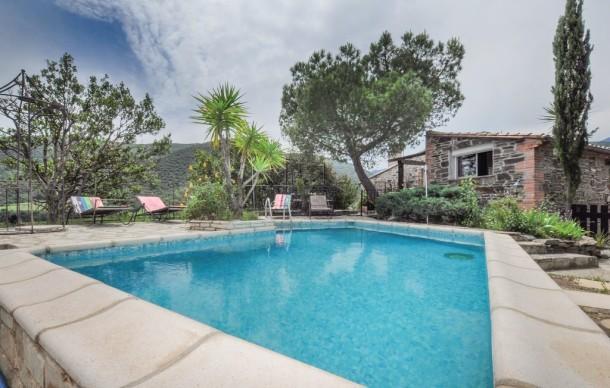 Location avec piscine privée - Rigarda - Maison 10 personnes - Ref ...