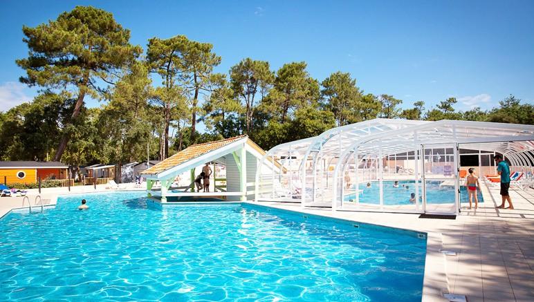 Camping 4 le boudigau vente priv e jusqu au 13 06 2016 for Camping a biarritz avec piscine
